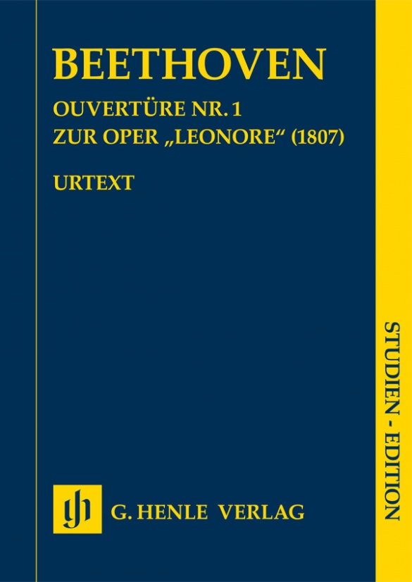 """BEETHOVEN: Overture no. 1 for the opera """"Leonore"""" (1807)"""