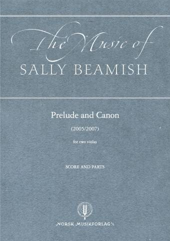 SALLY BEAMISH: Prelude and Canon (To bratsj)