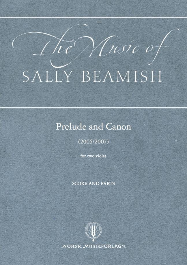 SALLY BEAMISH: Prelude and Canon (Two viola)