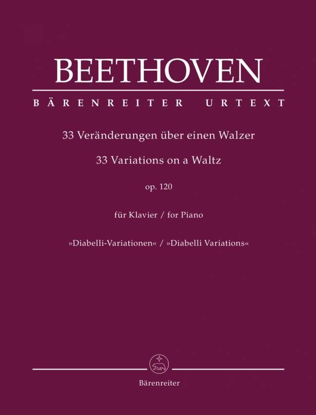 BEETHOVEN: Diabelli-Variationen, Op. 120 (Bärenreiter)