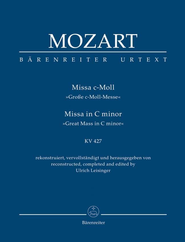 MOZART: Missa in C minor, KV 427
