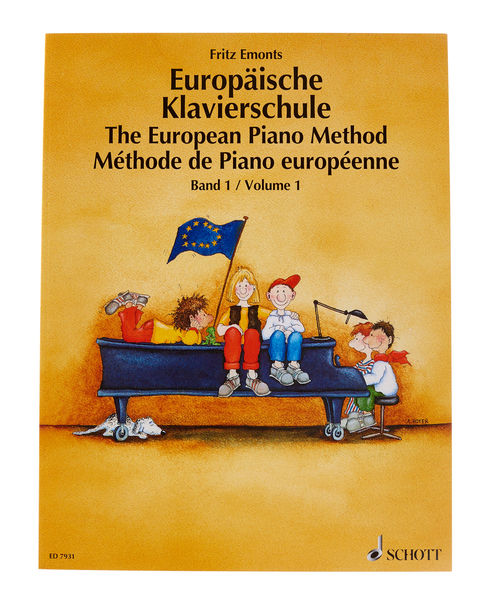The European Piano Method Vol. 1
