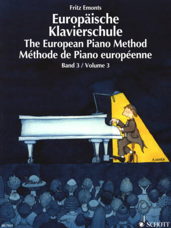 The European Piano Method Vol. 3