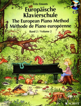 The European Piano Method Vol. 2