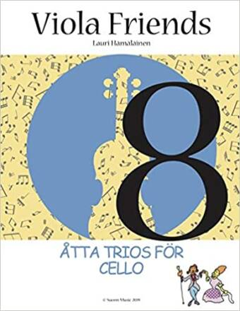 Viola Friends: Åtta trios för cello