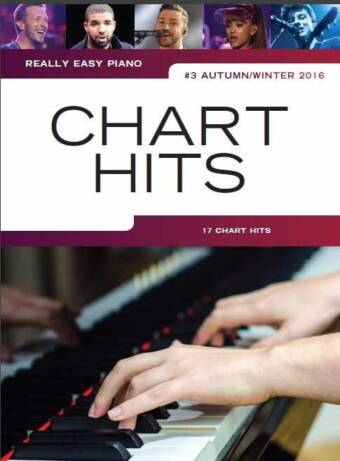 Really Easy Piano – Chart Hits #3 (Autumn/Winter 2016)