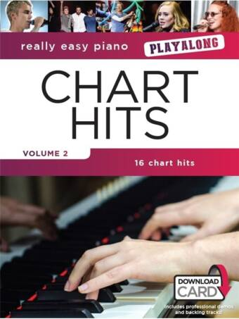 Really Easy Piano – Chart Hits Vol. 2