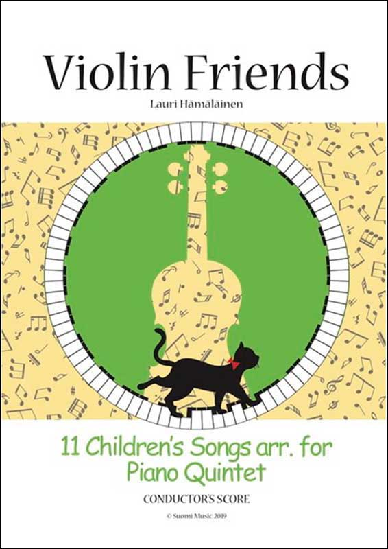 11 Children's Songs arr. for Piano Quintet: Conductor's Score