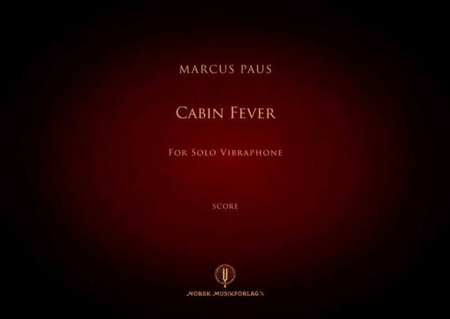 MARCUS PAUS: Sonata for Solo Vibraphone