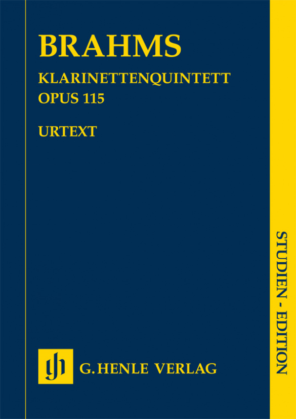 Clarinet Quintet b minor op. 115 for Clarinet (A)