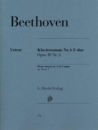 Piano Sonata no. 6 F major op. 10 no. 2