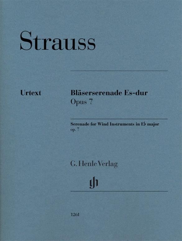 Serenade for Wind Instruments E flat major op. 7