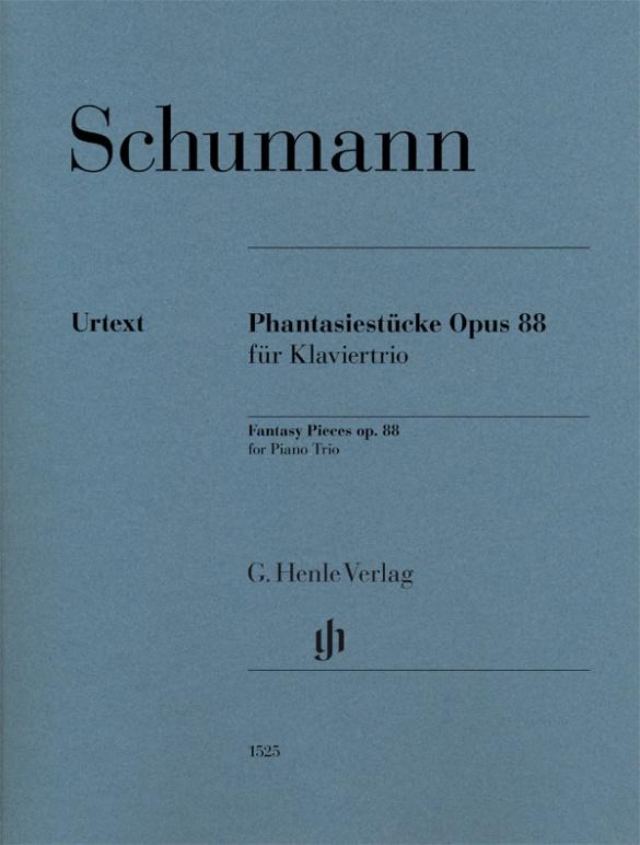 Fantasy Pieces op. 88 for Piano Trio