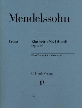 Piano Trio No. 1 in d minor op. 49