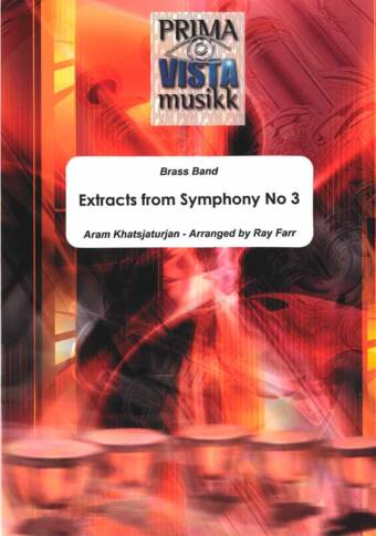 Extracts from Symphony No 3 (Brass Band)