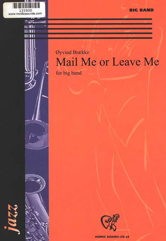 Mail Me or Leave Me (Big Band)