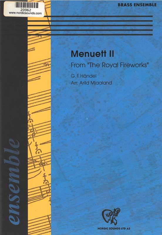 Menuett 2 (Brass Ensemble)