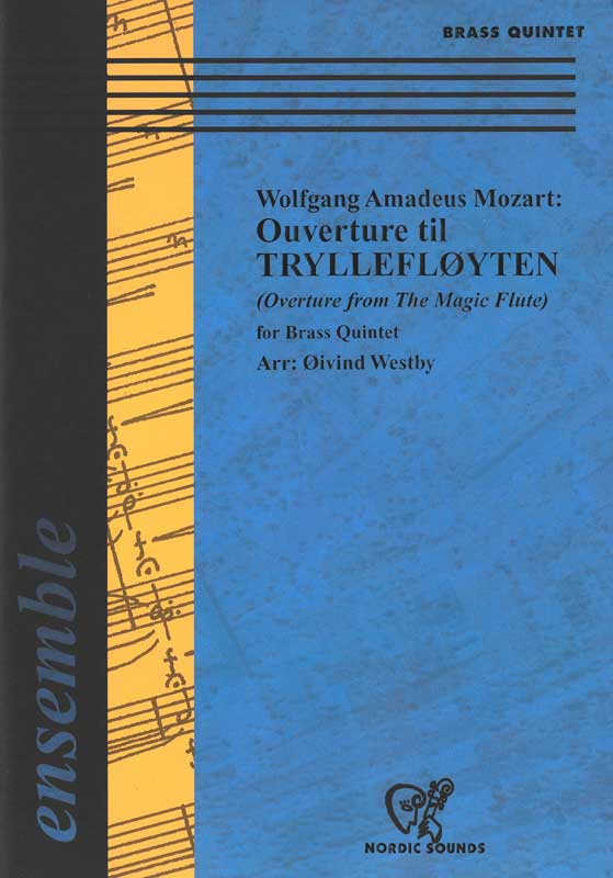 Ouverture til Tryllefløyten (Brass Quintet)