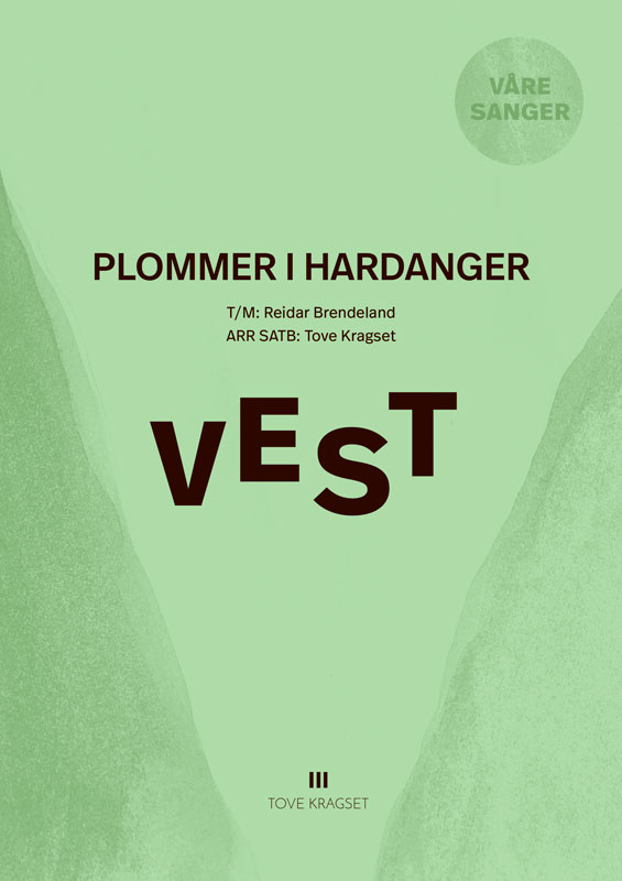 Plommer i Hardanger (SATB)
